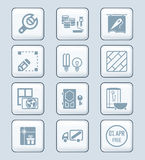 Home repair icons | TECH series Stock Photography