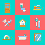 Home Repair Icons Stock Photos