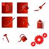 Home repair. Logo, elelmenty, symbols Stock Photos