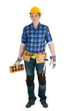 Home repair man isolated Royalty Free Stock Photos