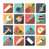 Home Repair Tools Icons Royalty Free Stock Images