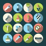 Home Repair Tools Icons Stock Photo