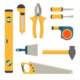 Home repair tools icons. Royalty Free Stock Photography