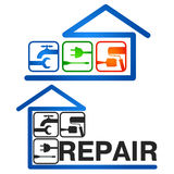 Home Repair vector Royalty Free Stock Images
