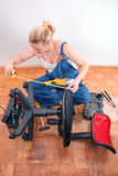 Home repairs - chair repair Stock Images