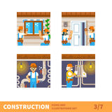 Home repairs Stock Images