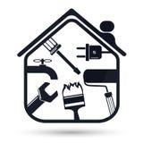 Home repairs royalty free illustration