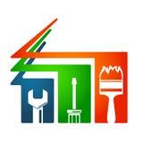 Home repairs tool symbol Stock Image