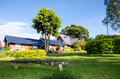 Khao Kho, Thailand : Home in resort. Royalty Free Stock Photo