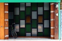 HOME retro Imagem de Stock