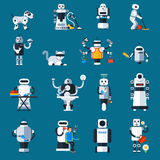 Home Robots Collection Royalty Free Stock Photo