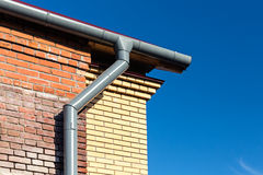 Home roof detail Royalty Free Stock Image