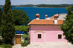 A home from Rovinj Royalty Free Stock Image