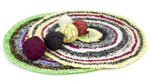 Home rug handmade Royalty Free Stock Photos