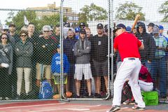 Home Run Derby Royalty Free Stock Photography