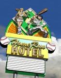 Home-Run-Hotel Lizenzfreie Stockbilder