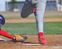 home run uciekiniera etykiety Obrazy Royalty Free