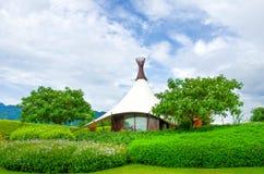 HOME rural contemporânea Fotografia de Stock Royalty Free