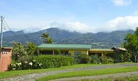 HOME rural em Costa-Rica Fotografia de Stock