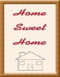 home sötsak royaltyfri illustrationer