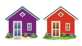 home sötsak stock illustrationer