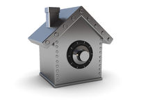 Home safe Stock Illustration