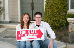 Home Sale Stock Photography