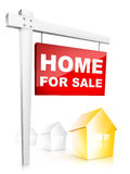 Home For Sale Royalty Free Stock Image