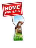 Home For Sale. Real Estate Tablet - Home For Sale