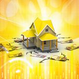 Home Sale Concept Stock Image
