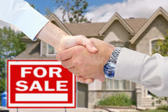 Home for sale. Consent Stock Photos