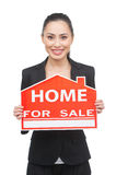 Home for sale. Royalty Free Stock Image