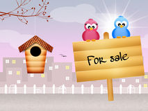 Home for sale Royalty Free Stock Photo