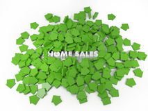Home sale Royalty Free Stock Photos
