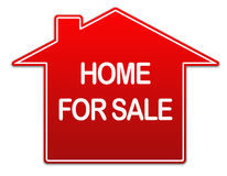 Home for sale real estate sign  Stock Photography