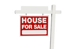Home For Sale Real Estate Sign Royalty Free Stock Photography