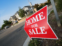 Home For Sale Sign Royalty Free Stock Photos