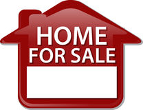 Home for sale sign Illustration clipart Stock Image