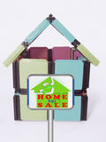 Home For Sale Signboard Royalty Free Stock Photo