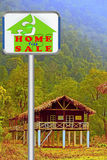 Home For Sale Signboard Stock Photo