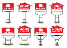 Home For Sale Signs Royalty Free Stock Images