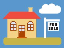 Home for sale Royalty Free Stock Photos