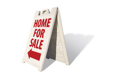 Home For Sale Tent Sign Stock Photography