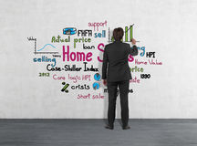 Home sales Royalty Free Stock Photography