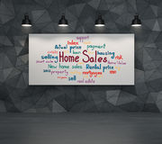 Home sales concept Royalty Free Stock Photography
