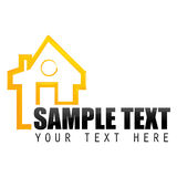 Home sample card Royalty Free Stock Photography