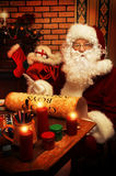 Home of santa royalty free stock images