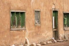 A Home in Santa Fe, New Mexico Royalty Free Stock Photos