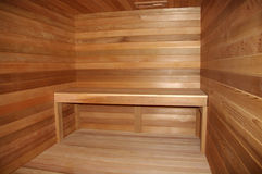 Home Sauna Royalty Free Stock Photography