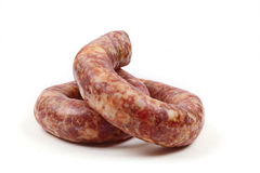 Home sausage Royalty Free Stock Image